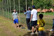 Dorense que joga no Cruzeiro Esporte Clube, recebe equipe do Esporte TV em Dores de Guanhães para gravar reportagem sobre sua vida.